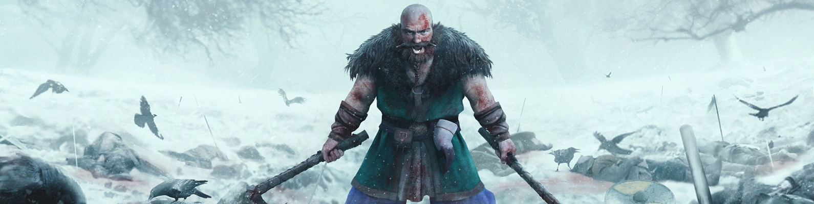fury, strong, crow, blade, berserk, man, axe, ice, war, viking, death, blood, Expeditions Viking, ken, sword, dead, powerful, angry, snow