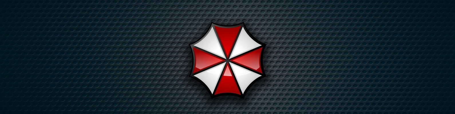 logo, Biohazard, Resident Evil, Umbrella Corp., evil, Our Business is Life Itself, Umbrella Corporarion, RE, cross, Umbrella, by