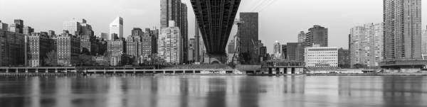 New York, мегаполис, мост, Queensboro Bridge, Roosevelt, Нью Йорк, Island