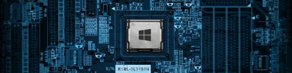processor, wallpaper, tecnology, windows 10, desktop, blue, windows logo